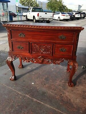 chippendale Lamp Table Or Night Stand