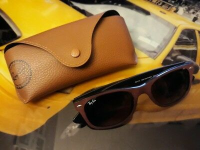 Lunette Soleil Ray Ban Originale Femme Made Italy Rb 2132 Taille 52 18 +  Etui Rb e8c1cc494775