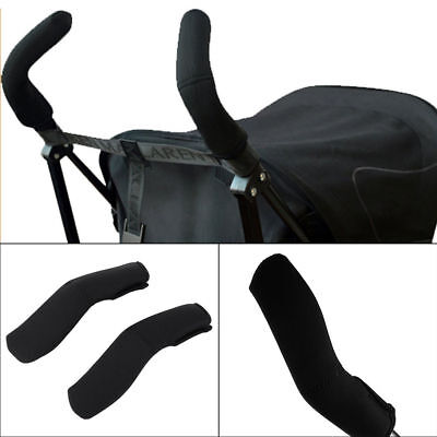 2pcs Baby Carriage Stroller Pram Handle Cover Bar Grip Protector Cover Sleeve