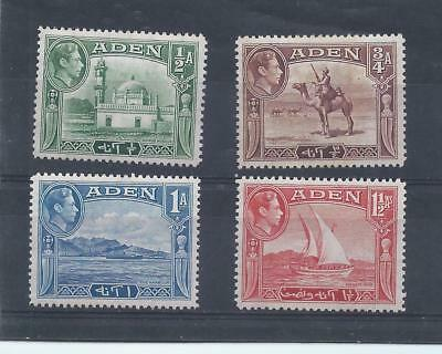 Aden stamps. lower values of the 1939 George VI series MH (C012)