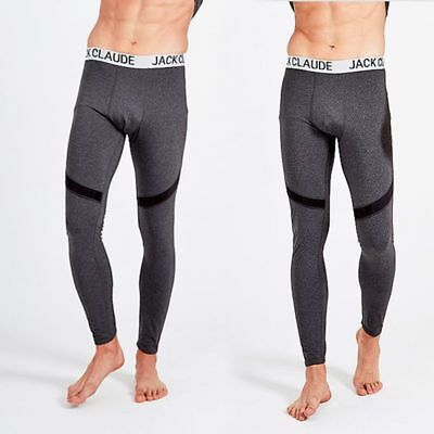 Mens Thermal Warm Long Johns Leggings Underwear Baselayer Bottoms Winter Pants