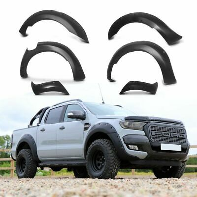 MATTE BLACK XO Wide Arch Kit -Extended Arch for Ford Ranger T6 Raptor 2016-2019