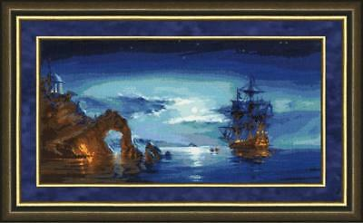 """Counted Cross Stitch Kit GOLDEN FLEECE MM-024 - """"In the Moonlight"""""""