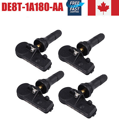 4x TPMS Tire Pressure Monitoring Sensors 315MHz For Ford Escape  Explorer Fiesta