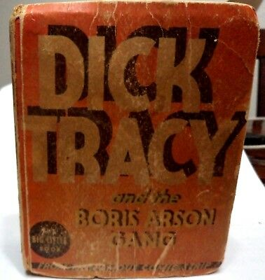 Dick Tracy #1163, Boris Arson Gang, 1933 by Chester Gould