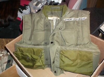 Armor Body Fragmentation protective coat M-1955 with collar steel plates