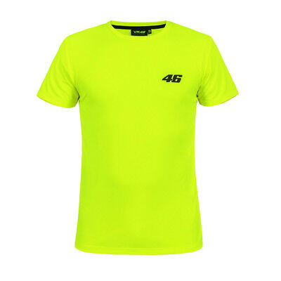 New - Official VR46 2018 Valentino Rossi 46 Core Tee T-Shirt