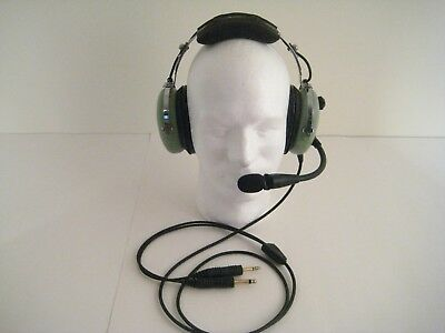 David Clark H10-13.4 Remanufactured General Aviation Headset with Volume Control