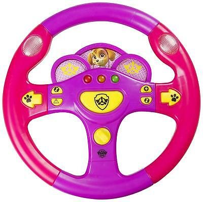 New Paw Patrol Skye Steering Wheel - Girls Kids Button Toy Gift Present