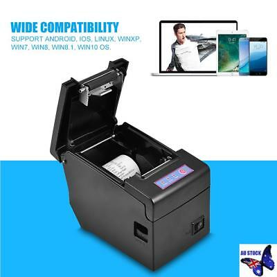 48mm ESC POS Thermal Receipt Printer Auto Cutter USB Network Ethernet High Speed