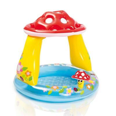 Piscina hinchable niños Intex 57114 Mushroom baby pool Champiñón juguete