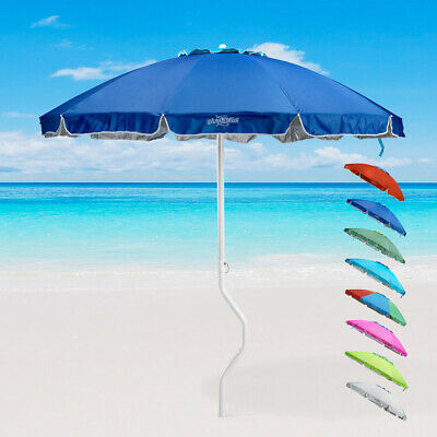 Sombrilla playas y piscinas Gira Facile 220 cm Antiviento Protección UV APOLLO