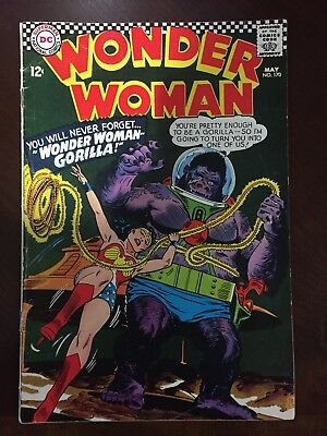 Wonder Woman No.170 VG/F DC Silver Age Collection