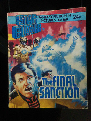 "Starblazer #169 ""THE FINAL SANCTION"" published by DC Thomson"