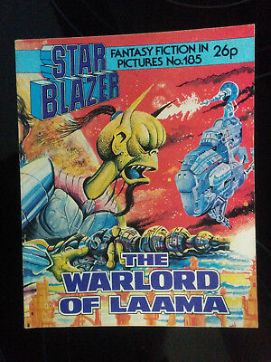 "Starblazer #185 ""THE WARLORD OF LAAMA"" published by DC Thomson"