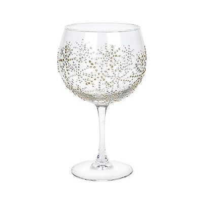 Sunny By Sue Pink /& Purple Flowers Large Balloon Gin Copa Glass Gift For Mum