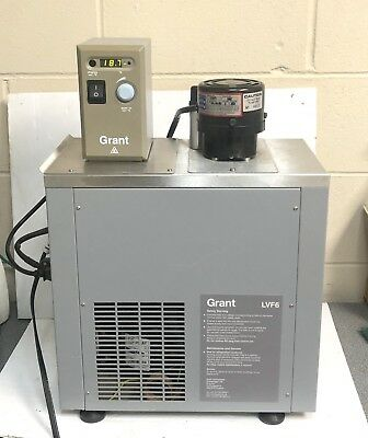 Grant LVF6(L)Heated/Refrigerated Circulating Water Bath.   #12796