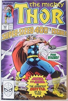 The Mighty Thor  Issue # 400. Super-Sized Issue. Feb.1989. N.mint  High Grade