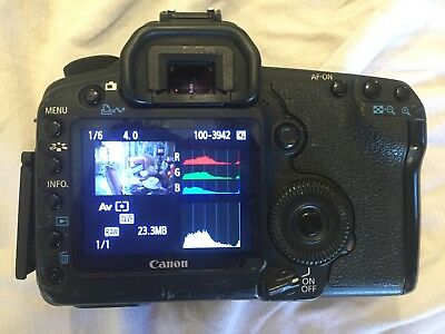Canon 5D Mark II 21.1MP Camera - Black (Body Only)  Sold As is READ Description