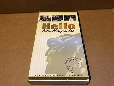 Hello New Hampshire VHS Tape Old Man Of The Mountain