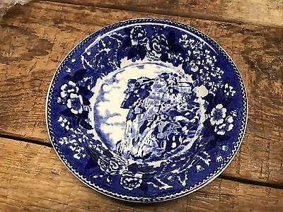 Rare Vintage New Hampshire Old Man Of The Mountain Bowl