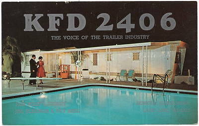 Postcard KFD 2406 Voice of the Trailer Industry in Benicia, California~106435