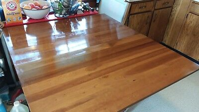 antique dinning room table, solid wood, sits up to 12.