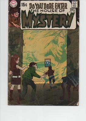 House Of Mystery 183 Fine- 1969 Dc Silver Age Comic