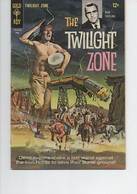 The Twilight Zone 25 Very Fine 1968 Gold Key Silver Age Comic