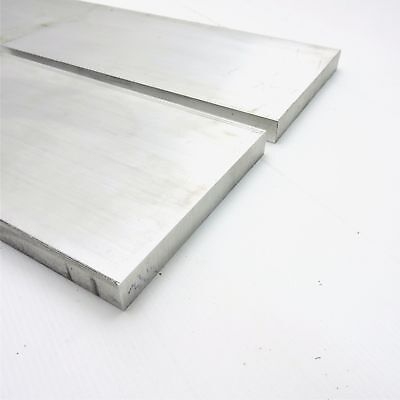 ".75"" x 6"" Aluminum 6061 FLAT BAR 17.25"" Long new mill stock QTY 2 sku K419"