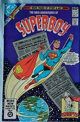 The New Adventures Of Superboy # 22