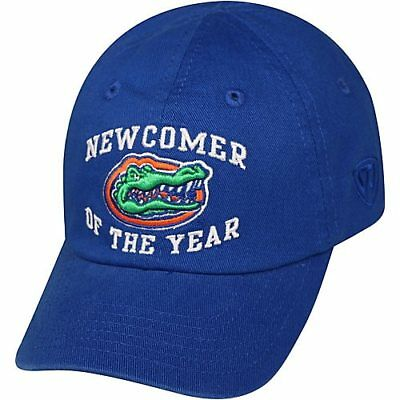 """Florida Gators UF Toddler Embroidered """"Newcomer Of The Year"""" Blue Hat Cap NWT"""