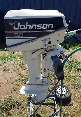 6hp Johnson Outboard Short Shaft very reliable