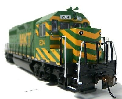 HO Scale Model Railroad Trains Layout Engine MKT Katy GP-40 DC Locomotive 63527