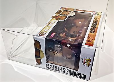 1 Box Protector For Many (Not All) FUNKO POP! 3 Packs  Read! Clear Display Case