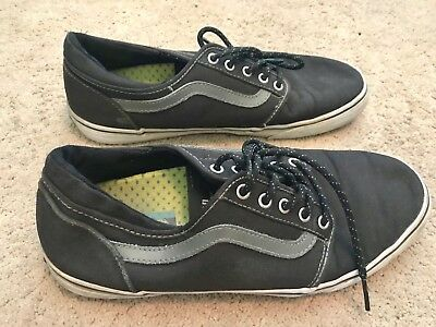 53fdf0d0dbb3 VANS LXVI TRIG Skateboard Shoes Off The Wall TB4R SHOES Black Mens Size 10.5