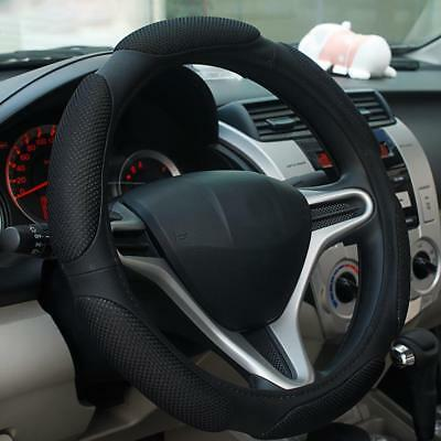 1Luxury Auto Car Steering Wheel Cover Carbon Pattern with PU Leather Car fAU