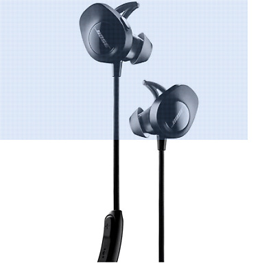 Bose SoundSport Black WIRELESS Free headphones Bluetooth Factory Renewed