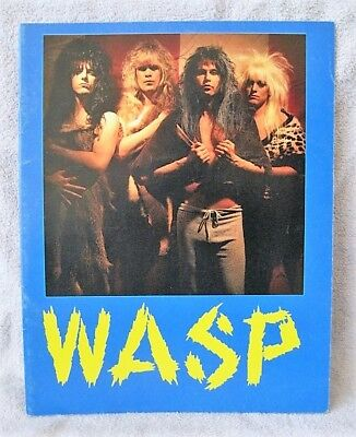 Wasp - 1986 - Welcome To The Electric Circus Tour - Tourbook - Great Gift Item!