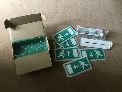 Clearvision LED Emergency Exit Sign BJ/BNC/RM/M3/W EGR-RCD-DOWN