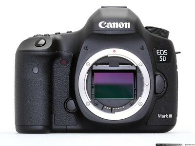 Canon EOS 5D Mark III 22.3MP Digital SLR Camera - Black (Body Only) Shutter:6875