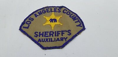 Los Angeles County Auxiliary Sheriffs Patch