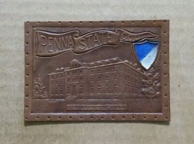 Penn State,McAllister Hall Tobacco Leather,1900's-1910's