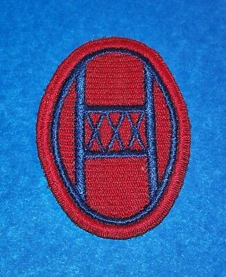 ORIGINAL CUT-EDGE WW2 GERMAN MADE 30th INFANTRY DIVISION PATCH