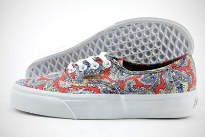 2c79eeccf137ab Vans Authentic (Paisley) VN0004OPITM Cayenne Textile Casual Shoes (B