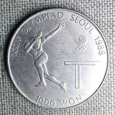 Korea-South 1000 Won, 1988 - 1401