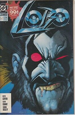 Lobo #1 Nov 1990 Dc Comic Book