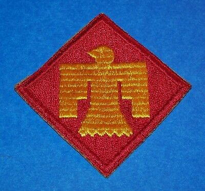 ORIGINAL CUT-EDGE WW2 45th INFANTRY DIVISION PATCH