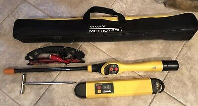 Vivax Metrotech VM-550RX Cable Pipe Locator With VM-550TX VM-550 GREAT PRICE !!