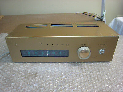 Heathkit FM tube tuner FM-3A for parts or repair.